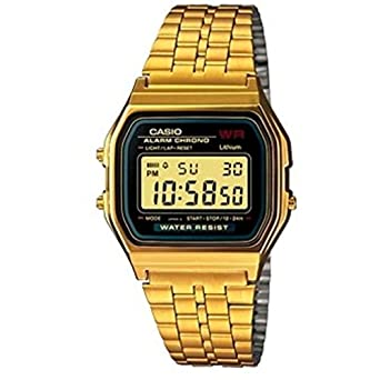 246d9c9a243 Image Unavailable. Image not available for. Color  Casio Vintage Collection  Digital Unisex Bracelet Watch (Gold)