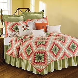 C&F Home Ireland King 3 Piece Quilt Set King Quilt Set Green