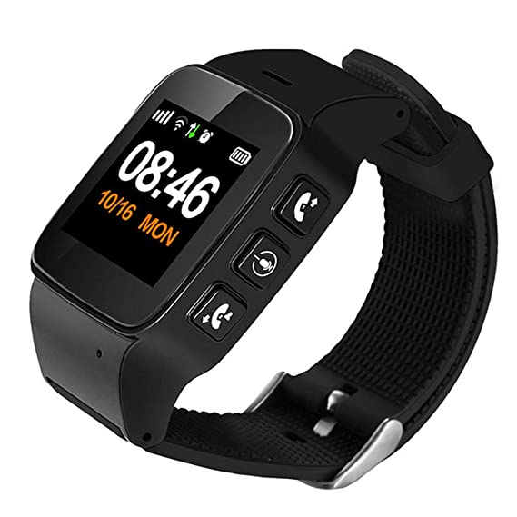 Amazon.com: Fitness Tracker D99 Elderly Smart Watch Anti ...