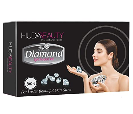 8cc29e2206 Buy Marvellous Store Huda Beauty Diamond SPL Facial Kit (M_Store Huda  Diamond SPL Facial Kit) Online at Low Prices in India - Amazon.in