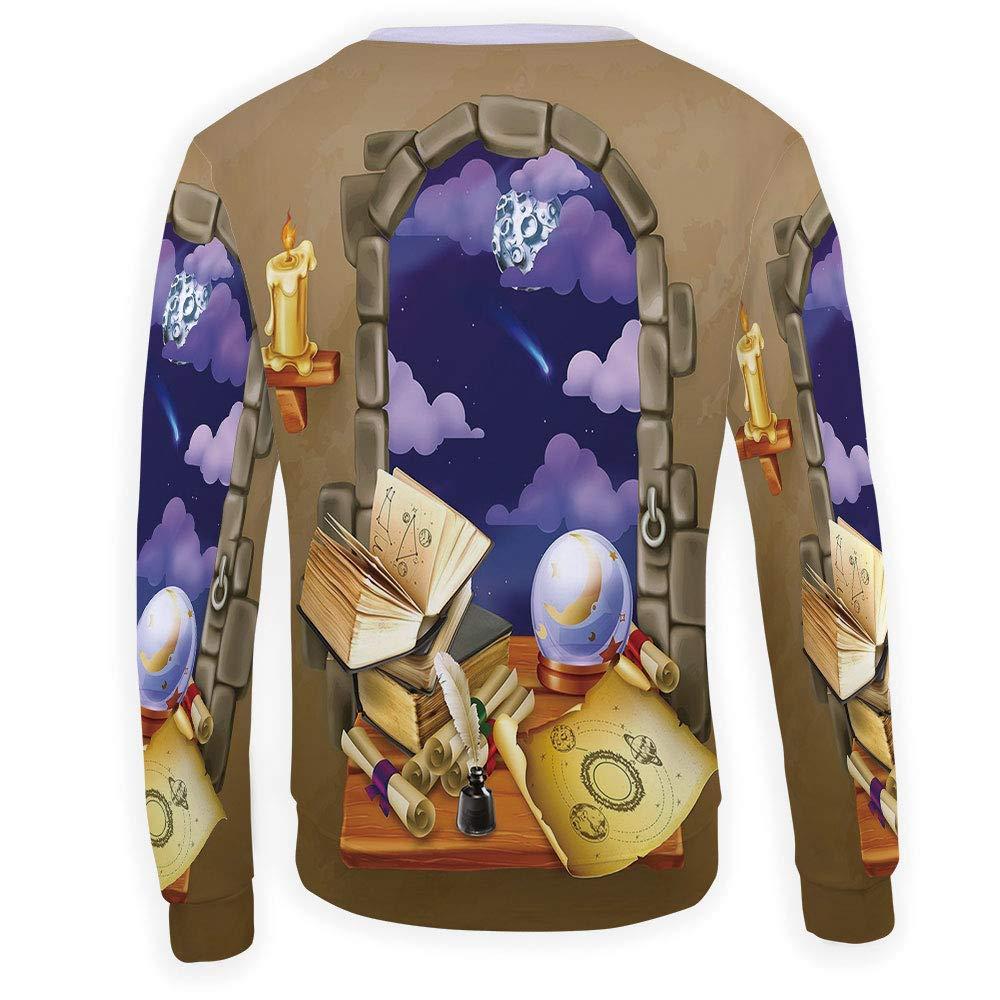 MOOCOM Adult Astrology Crewneck Sweatshirt