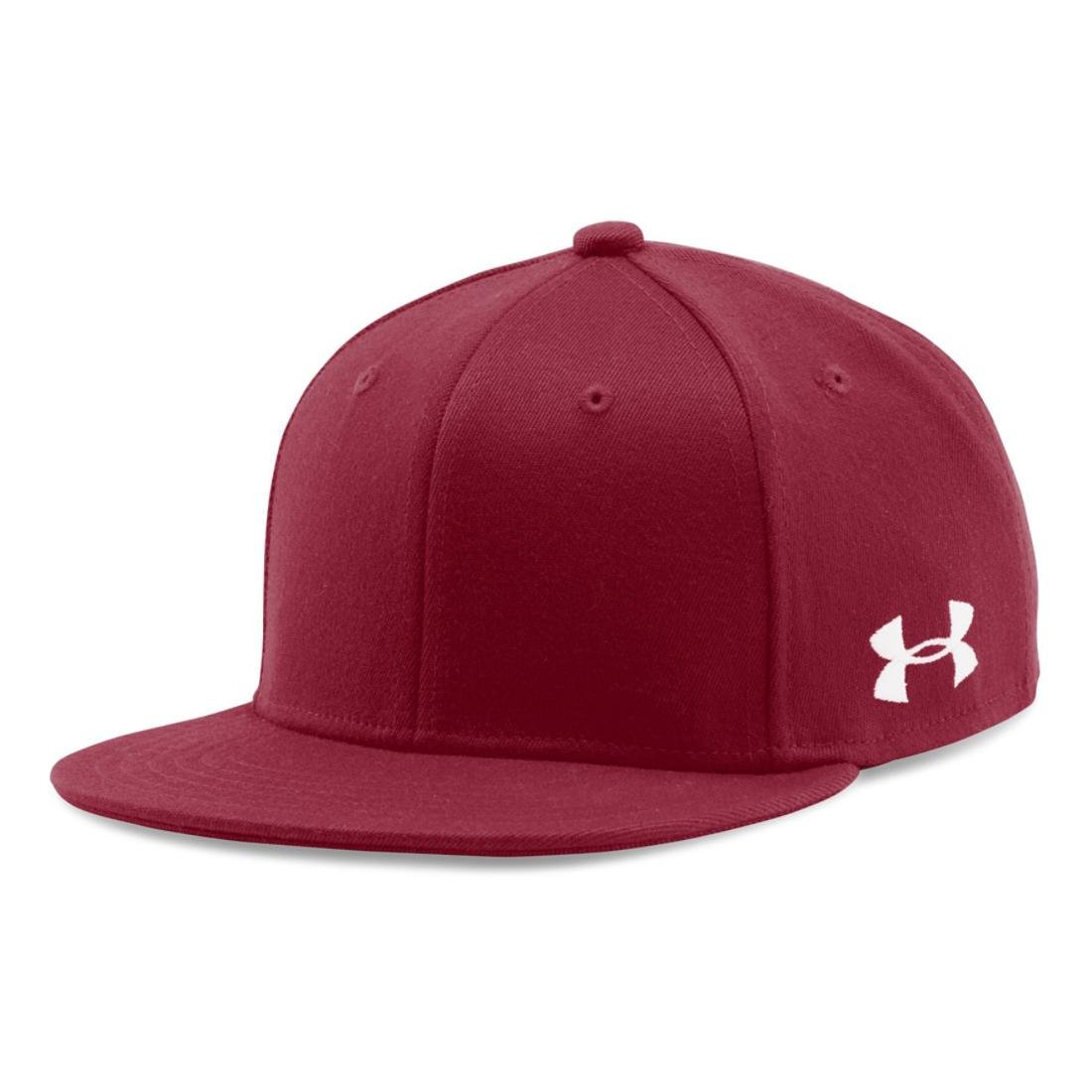 Under Armour Men's UA Flat STR, Card Red/Wh 625, XL/XXL