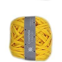 Crochela Cotton-Polyester T-Shirt Yarn (Orange)