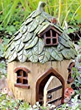Cheap Special T Imports Resin Fairy House (Leaf Roof)