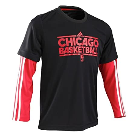 adidas Junior NBA Chicago Bulls Basketbal dos camisas y un par de calcetines Negro: Amazon.es: Deportes y aire libre
