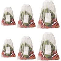 HomeStrap Mesh Reusable Fridge Storage Bag for Fruits & Vegetables