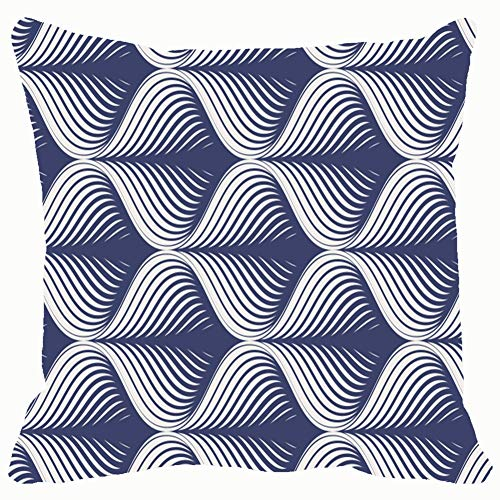 (DWone Hat Geometric Pattern Repeating Tile Texture Backgrounds Textures Geometric Backgrounds Textures Decorative Pillow Case Home Decor Pillowcase (18x18 Inches) Colourful)