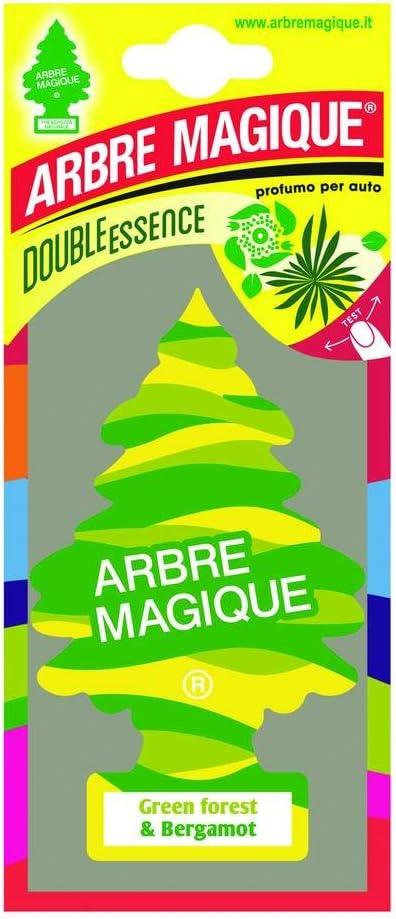 Abremagique 1710546 Lufterfrischer Wunderbaum Green Forest Bergamot Auto