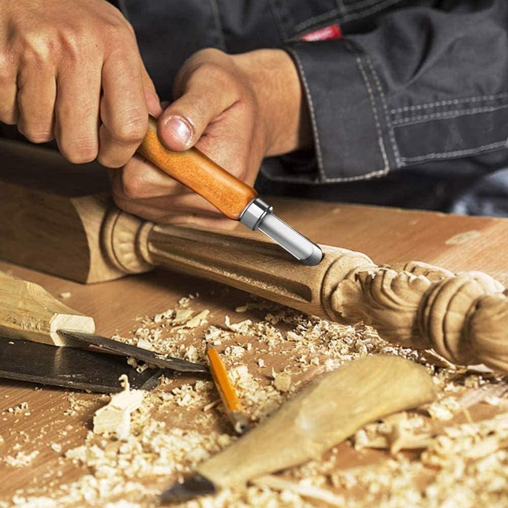 Sn /_ Pro Argile Sculpture Bois Couteau Main Ciseau Graveur DIY Travail Du