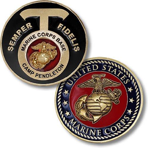 Marine-Corps-Base-Camp-Pendleton-CA-Challenge-Coin
