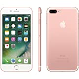 "IPhone 7 Apple Plus com 32GB, Tela Retina HD de 5,5"", iOS 10, Dupla Câmera Traseira - Ouro Rosa"