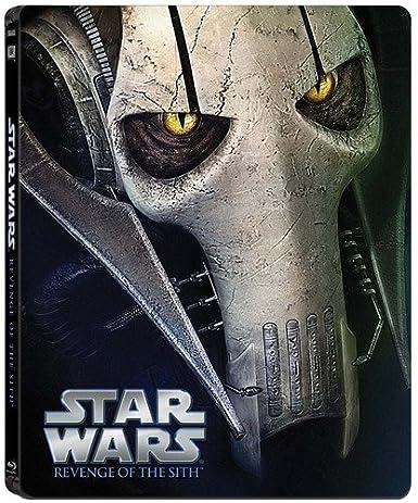 Amazon Com Star Wars Revenge Of The Sith Limited Edition Steel Book Blu Ray Ewan Mcgregor Hayden Christensen George Lucas Movies Tv