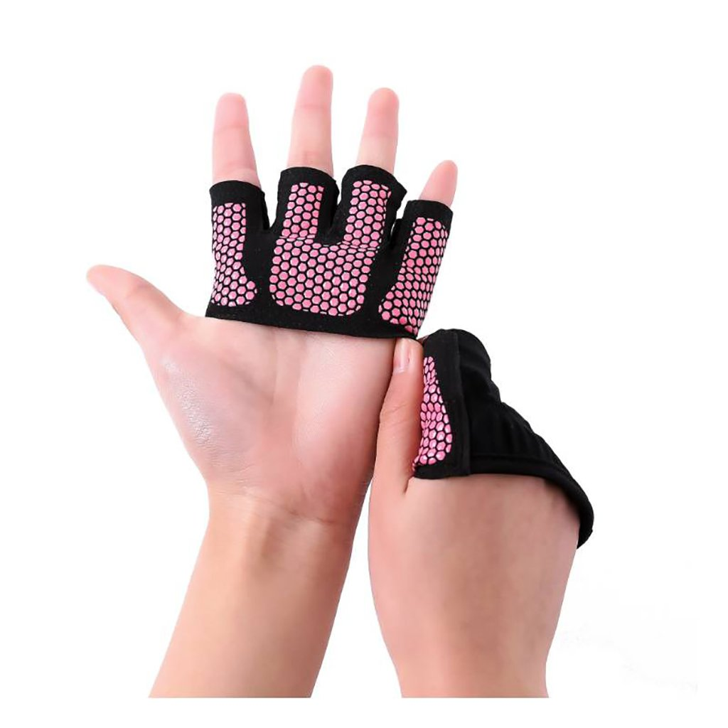 Men Women Yoga Fitness Gloves Weight Lifting Gym Training Sports Gloves