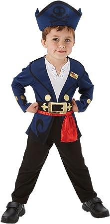 Jake - Jake y los Piratas de Nunca Jamás - Disfraz Infantil - Niño ...