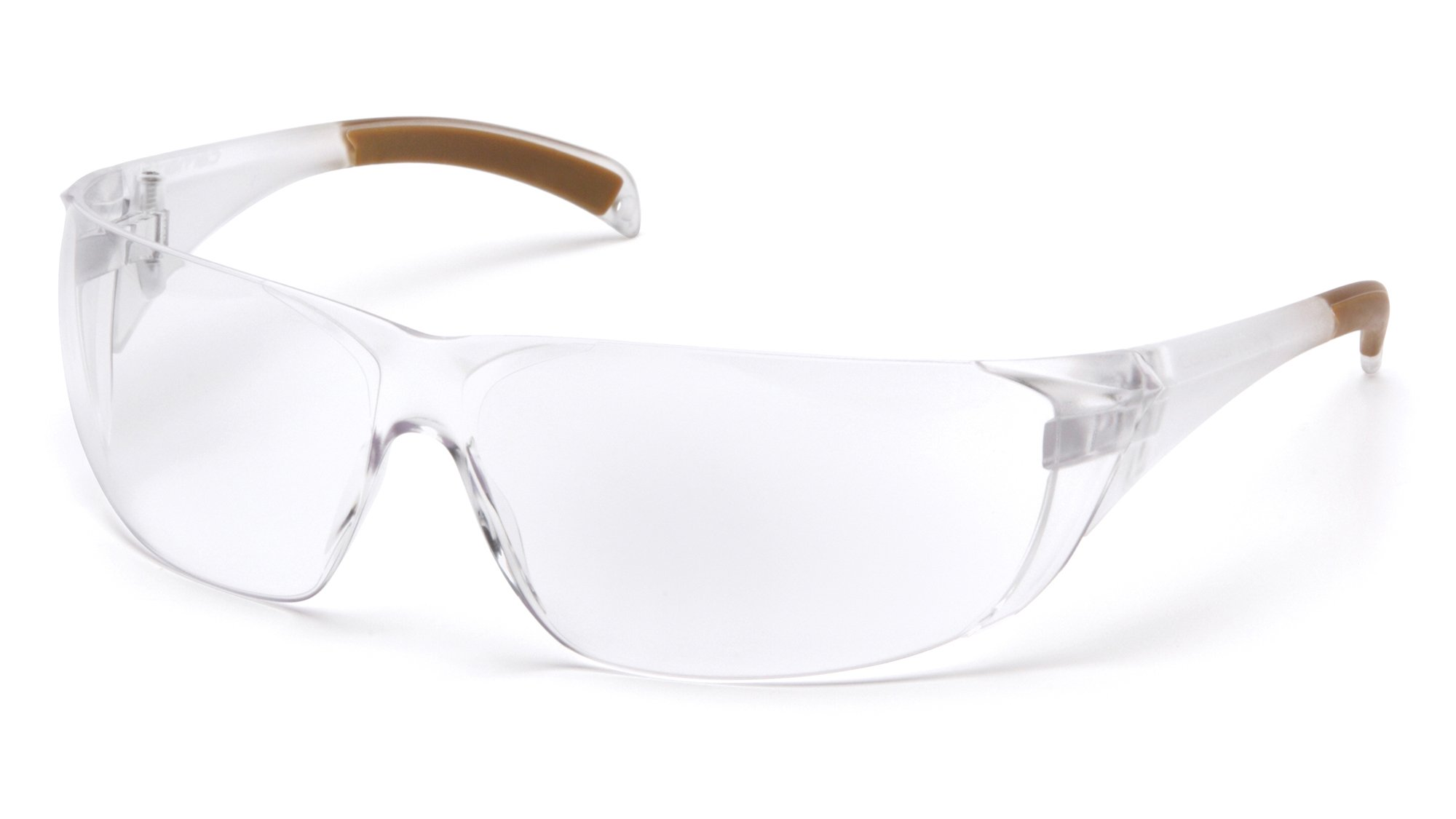 Carhartt CH110STCS Billings Safety Glasses, Clear Frame, Clear Anti-Fog Lens