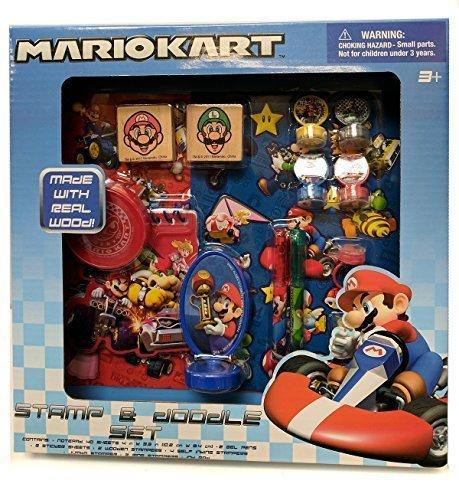 Mariokart Stamp and Doodle Set