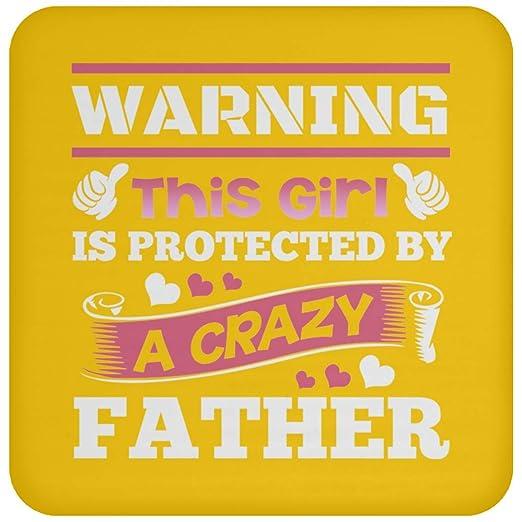 Advertencia de que esta niña está protegida por un padre ...