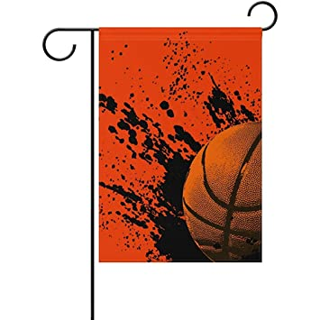 Amazon com : Staroind Grunge Basketball Double-Sided Printed