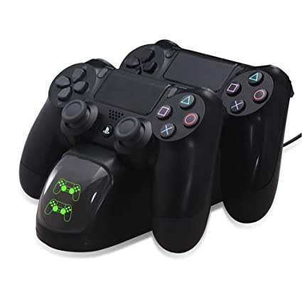Amazon.com: lblll PS4 Gamepad Cargador PS4 mango Cargador ...