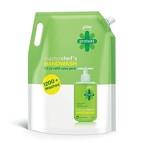 Godrej Protekt Masterchefs Handwash Refill - 1.5 L
