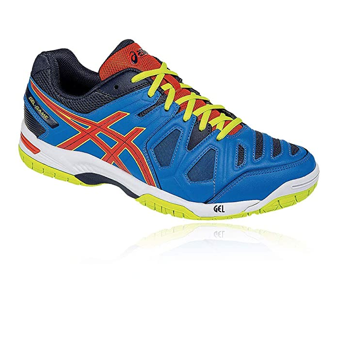 Asics Gel-Game 5 Hombres Tennis Chaussures E506Y Sneakers Trainers ...