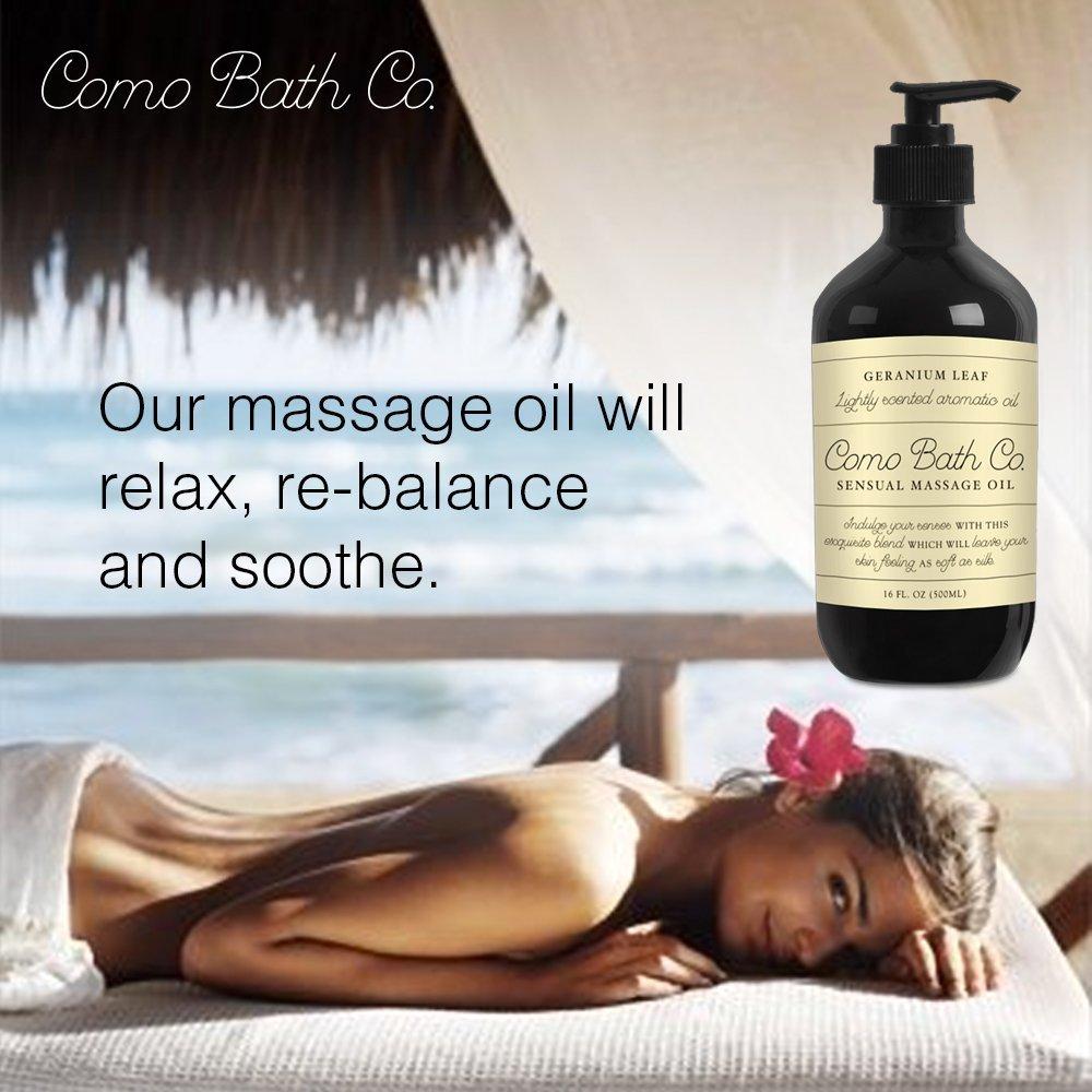 amazon com como bath co premium massage oil 100 natural