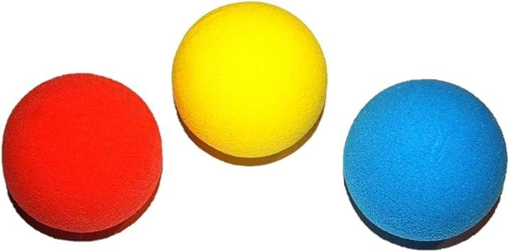 atabiano - Pelotas de tenis (gomaespuma, 68 mm, 3 unidades ...