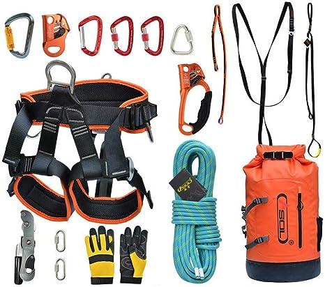 HANG Kit de Escalada al Aire Libre, arnés de Medio Cuerpo ...