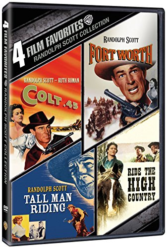 4 Film Favorites: Randolph Scott Westerns (Colt 45, Fort Worth, Tall Man Ridin, Ride The High - Fort Stores Worth