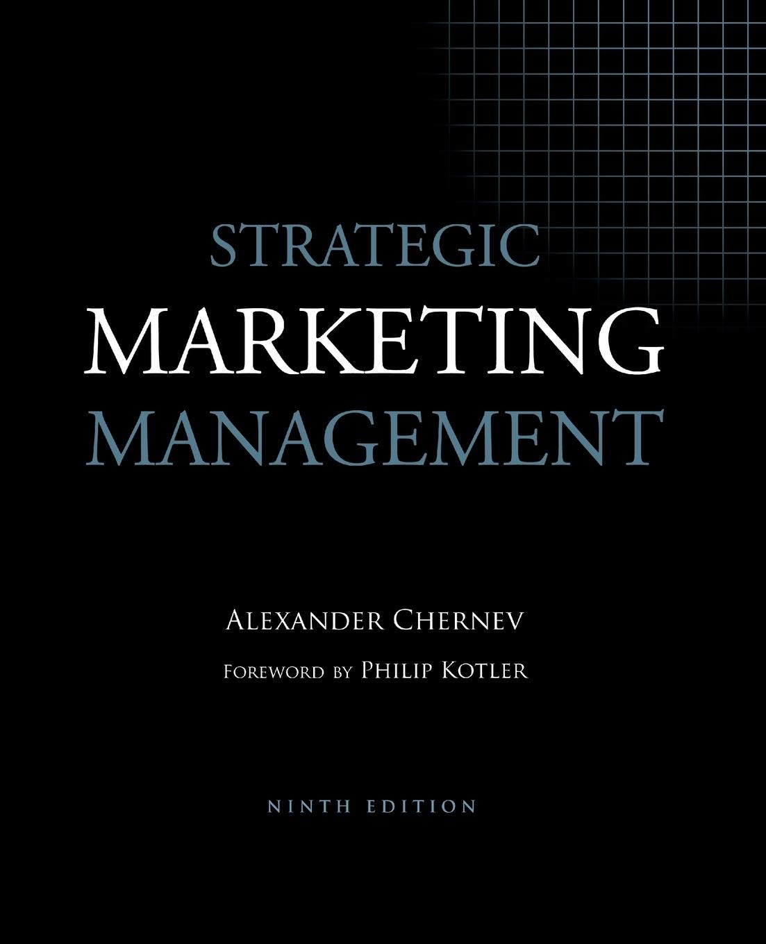Strategic Marketing Management, 9th Edition by Cerebellum Press