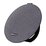 Bluetooth Speakers 4.2,Portable Wireless Speaker with 15W Super Stereo Sound,Strong Bass,Waterproof IPX5, 2500mAh Battery,MOKCAO STYLE Perfect for iPhone/Android devices,Colorful Good Gift-Grey