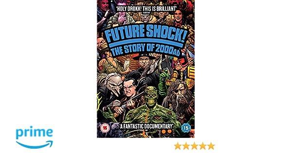 Future Shock! The Story Of 2000 AD DVD Reino Unido: Amazon ...