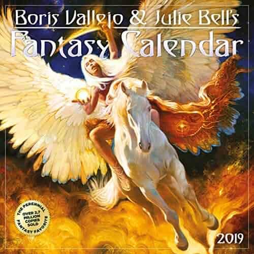 Boris Vallejo & Julie Bell's Fantasy Wall Calendar 2019