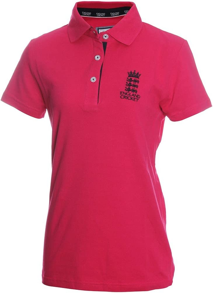 Brandco Inglaterra Cricket Camisa de Polo para Mujer, Lipstick ...