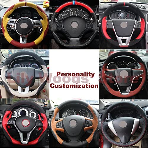 2010 F150 Accessories >> Loncky Black Suede Steering Wheel Cover For Ford F 150 F150