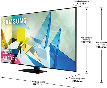 Samsung QLED 4K 2020 55Q80T - Smart TV de 55
