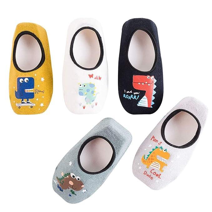 HaimoBurg - Calcetines - para bebé niño 5 Paar Set A 1-2 Años
