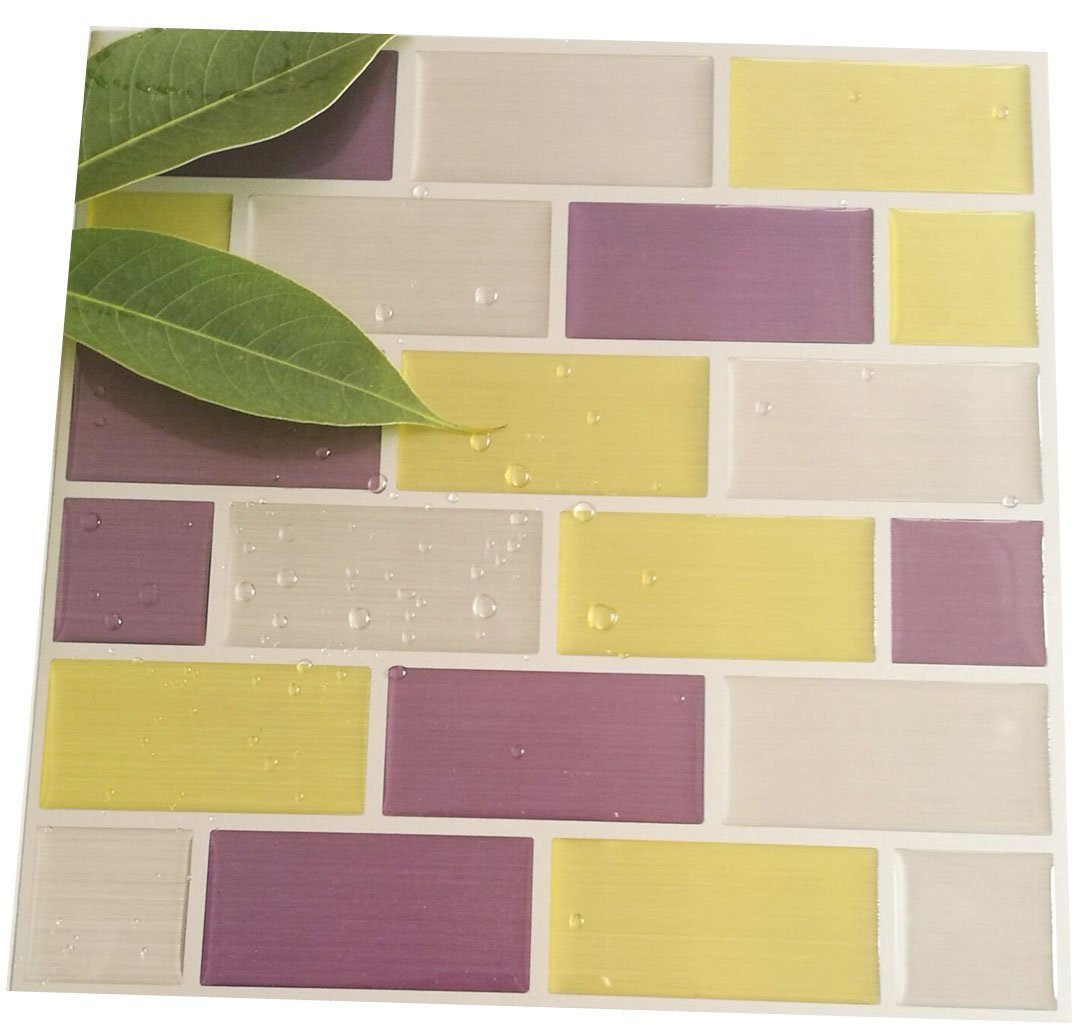 Amazon.com: Pop Resin Eco-friendly Waterproof Self Adhesive Mosaic ...