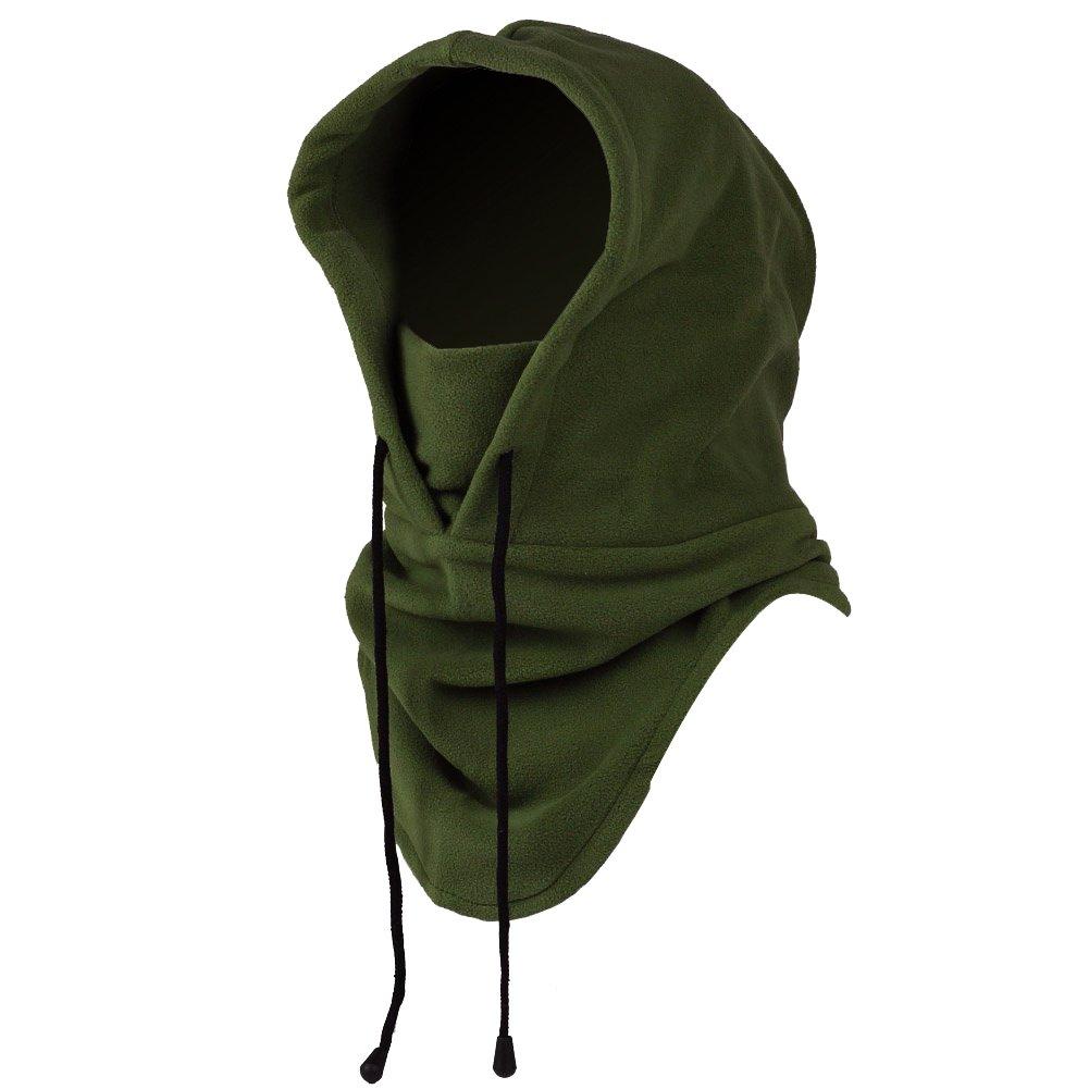 Mangotree 6 in 1 Winddichte Vollgesichtsmaske Unisex Tactical Heavyweight Sturmhaube Gesichtsmaske/Skimaske / Hooded Kopfhaube für Sport und Outdoor 2716