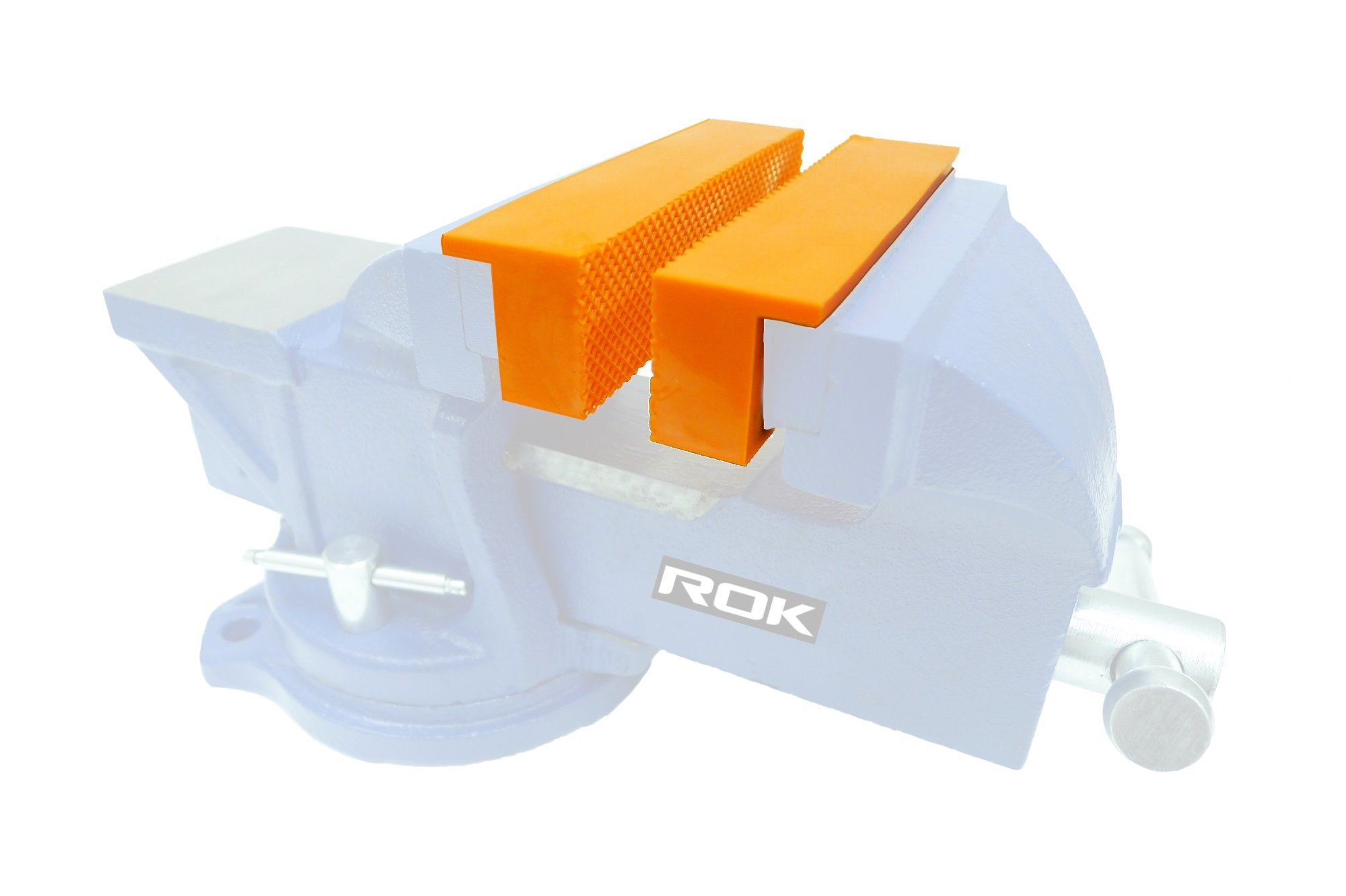 ROK 6 Inch Magnetic Vise Jaw Liner Pads - Pair by ROK Tools (Image #1)