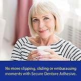 Secure Waterproof Denture Adhesive - Zinc Free
