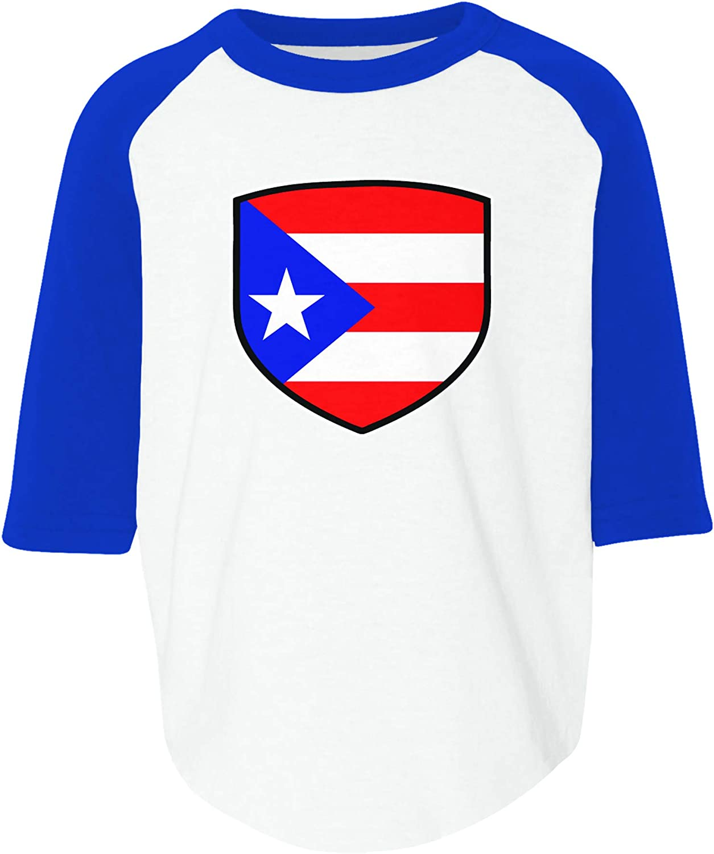 Baby Girls Kids Puerto Rico Flag Boricua ComfortSoft Long Sleeve Tee