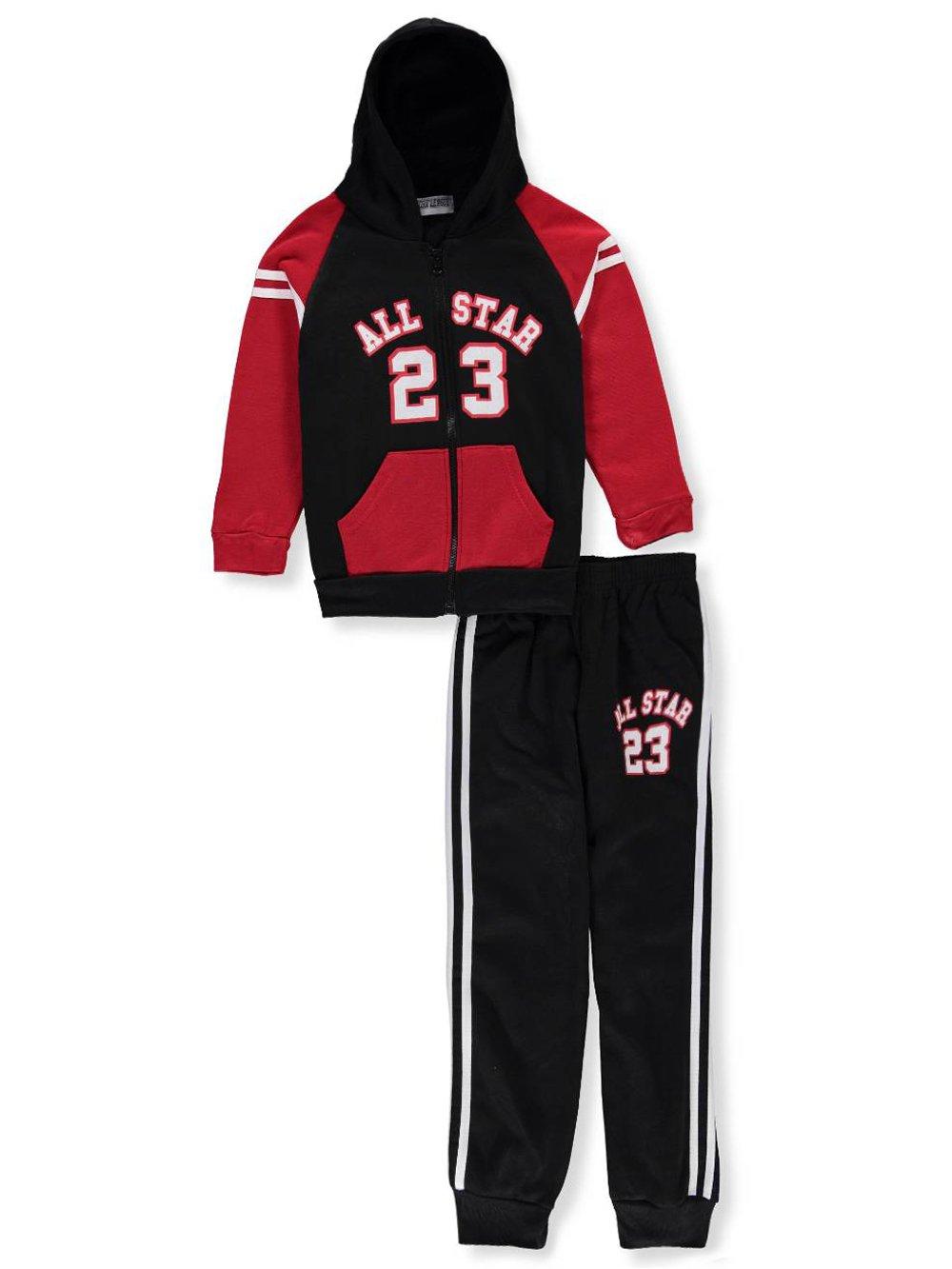 Victory League Boys' 2-Piece Sweatsuit Pants Set 2t