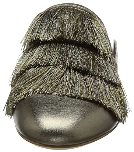 Donna Zoe Rachel Kaius Gold Old Pantofole Flat Oro 718 Fringe Hn6vwq