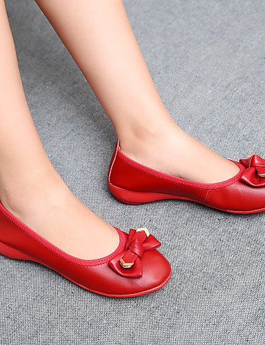 Casual Plat femme Uk5 rouge Talon Red Noir Cn38 5 Eu38 Appartements Chaussures Bout Pdx Rond kaki us7 5 pwqZ0t0d
