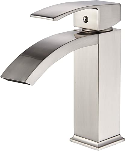 RKF Modern Kitchen Faucet with Pull Down Spray Head,Single Lever Handle Pull Down Sprayer Kitchen Faucet with deck plate and dispenser,Matte Black,198013 MB