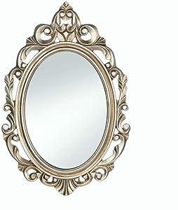 "Gold Royal Crown Wall Mirror 15.5x0.5x23.5"""