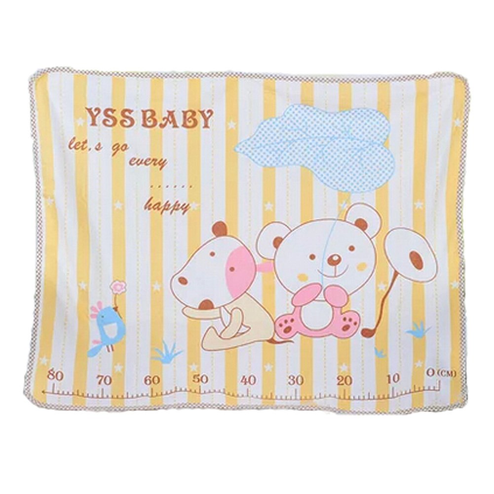 Lovely Baby Reusable Waterproof Infant Home Travel Urine Pad Cover(yellow