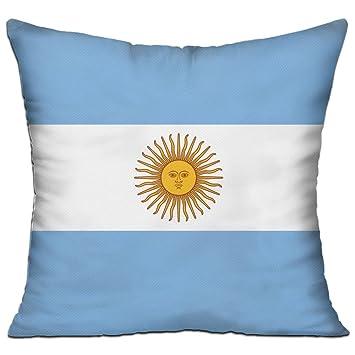 Amazon.com: wqbzl bandera de Argentina moda decorativo, para ...