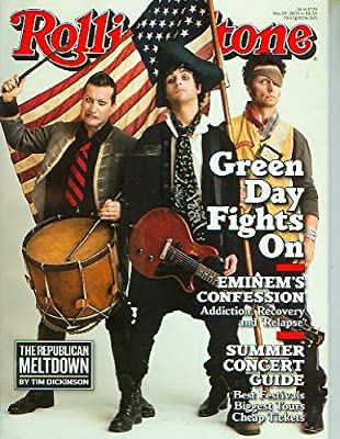 Rolling Stone #1079 May 28, 2009 Green Day Eminem Summer Concert Guide